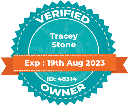 Verified owner badge