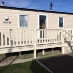 Static Caravan at Holiday caravan Southview Skegness