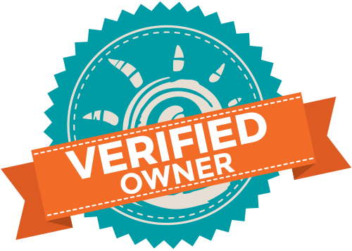 Owners verified trust badge