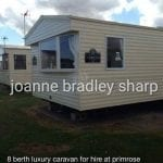 Static Caravan at Luxurious Caravan on Primrose Valley